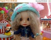ON SALE Blythe Carnival Adorable Carousel great size for Barbie and Pullip Highly Detailed with moving horses