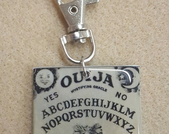 Ouija Key Fob Backpack Charm Purse Charm