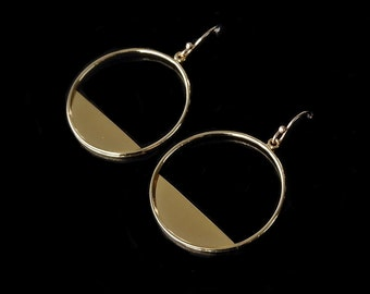 Hoop Earrings, More Then Just  a Hoop Earrings, Dangle Hoop Earrings