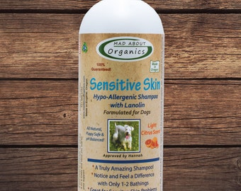 Dog Sensitive Skin Hypo - Allergenic Shampoo 16oz