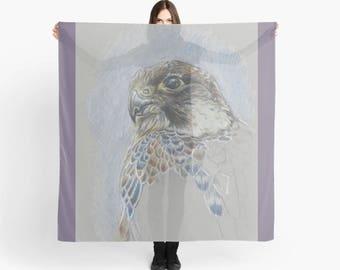 Perigrine Falcon Art Scarf 'The Great Escape'