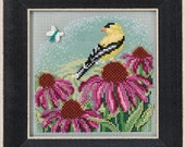 Mill Hill Buttons & Beads Spring Series Goldfinch MH14-1712 Counted Cross Stitch Kit