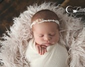 Light Pink Flokati, BasKet StufFeR Cherry Blossom Sheep Faux Flokati Fur Newborn Photo Props, Baby Props, Fur, Curly, Props for Babies
