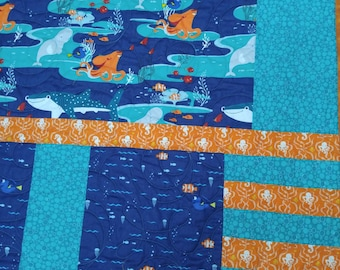 Finding Nemo/Finding Dory Quilt