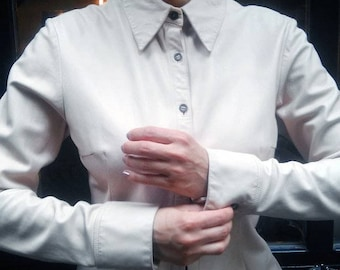 Jil Sander Authentic Leather Shirt-Jacket