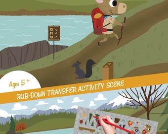 Hiking Adventure - Transfer Activity