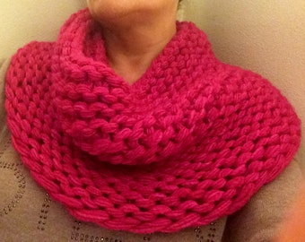 Super Cowl Knitting Pattern