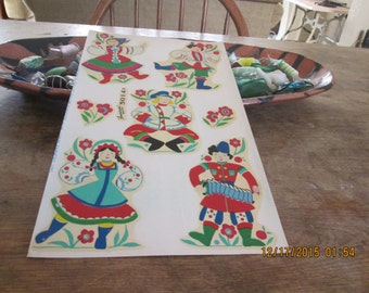 Decals, vintage Russian Holiday set, 2 pieces 1 price