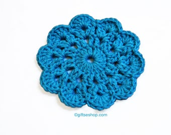 Crochet Coasters Pattern- Cup Coaster- Glass Coasters no84