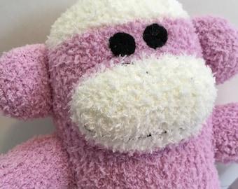 Dot the Baby Friendly Sock Monkey