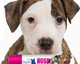 American Staffordshire Terrier NOSE BUTTER® Handcrafted All Natural Balm for Dry Dog Noses Choice: One .15 oz Tube or 3-Pack .15 oz Tubes