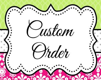 Custom Order for DannyBoice -Wall-Hanging - Custom Magnet Board - 36 x 31 - Personalized with Monogram - Office Wall - Kids Art