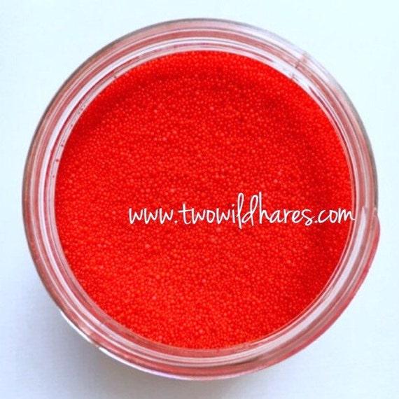 Jojoba Beads, Cherry Red, 20/40