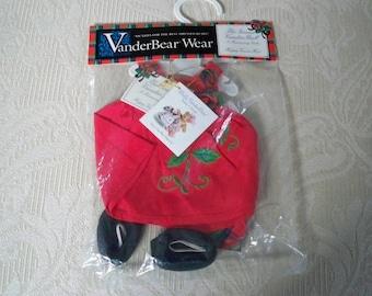 "Muffy VanderBear Wear 1997 ""The Grand Vander Ball"" Muffy Holiday Dress NOS"