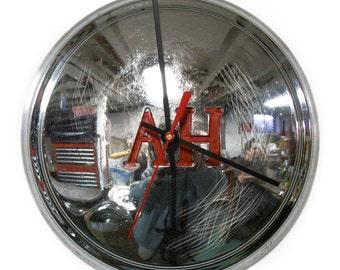 Austin - Healey Wall Clock - 1959 - 1962 AH Hubcap - British Car - 1960 1961 - Sprite Hub Cap