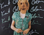 Kurt Cobain tshirt shirt grunge 90s Nirvana XXL 2XL new deadstock