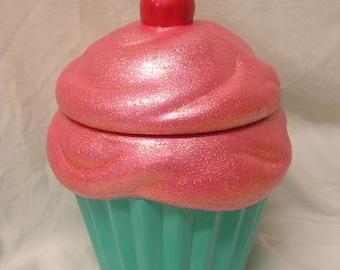 Sunrise Bubble Gum Delight Cupcake Jar