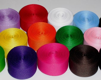 18 Yards Solid Colors 5/8 inch Grosgrain Ribbon Mix