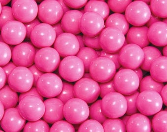 8oz Pink Shimmery Pearl Candy Sprinkles - Sequin Quins