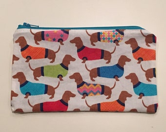 Reusable Snack Bag,  Zipper Bag,  Essential Oil Bag, Boy Snack Bag, Girl Snack Bag, Dogs
