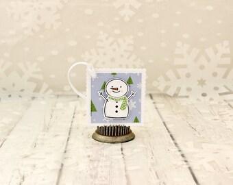 Snowman Tags, Snowman Gift Tags, Snowman Gift Tag Set, Christmas Snowman Tags, Winter Snowman Thank You Tags, Snowman Christmas Present Tags