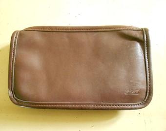 Coach Makeup Case / Wallet / Clutch
