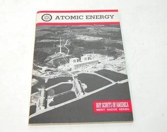 Atomic Energy Boy Scouts Of America Merit Badge Series Vintage Book