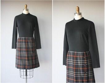 1960s Wool Dress | 60s Dress | 60s Wool Dress | Long Sleeved Dress | 1960s Day Dress | 60s Dress