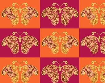 Summer Butterflies fabric