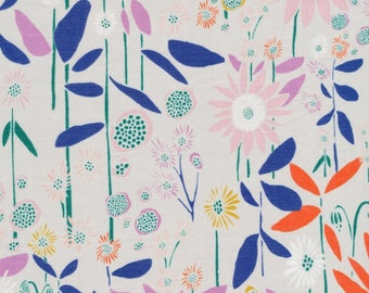 Cloud 9 Fabrics - Floret Collection - BATISTE Aubade in Foggy Dew Organic