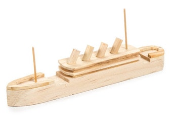 Titanic wood model ship kit