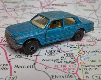Vintage Matchbox No 56 Mercedes 450 Sel 1979