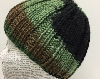Camouflage Baby Toddler Boys Knit Hat, 6-24 Months, Camouflage, Photo Prop