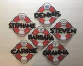 Princess Cruise Line Custom Bouy Door Magnets