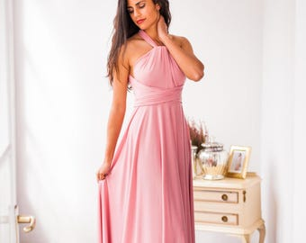 Light pink bridesmaid dress – Etsy