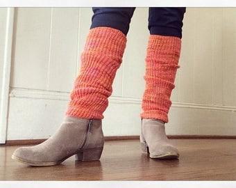 Microribbed Merino Leg Warmer