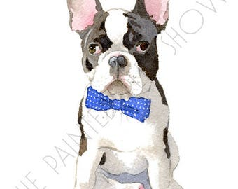 French Bulldog - set of 5 Blank Note Cards