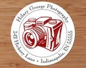 Classic Camera - Custom Address Labels or Stickers