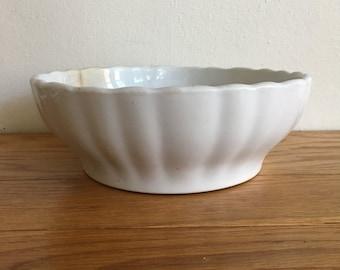 Vintage Meakin Ironstone Serving Bowl
