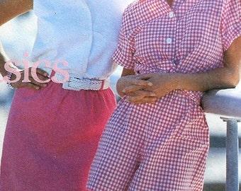 Skirt, Shorts, ShirtSewing Pattern UNCUT Simplicity 8298 Sizes 6-12