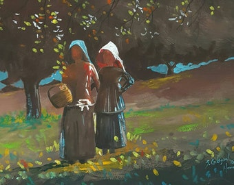 Winslow Homer's Apple Picking