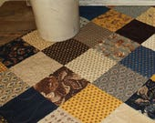 Eliza's Indigo quilted table runner