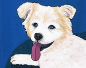 Reserved Listing for Kelly Noone for a Custom Pet Portrait