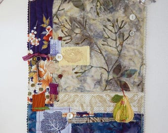 Four Seasons - mini art quilt