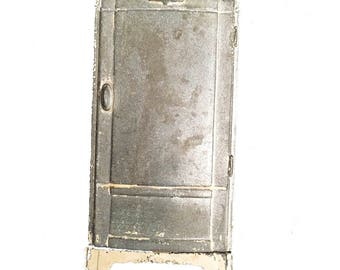 Antique Cast Iron Advertising Salesman Sample Fridgedaire Metal Toy Bank