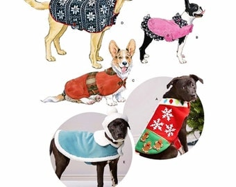 Dog Coat Pattern, Dog Hat Pattern, Dog Hoody Pattern, Simplicity Sewing Pattern 8277