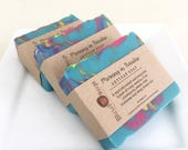 Morning in Paradise Artisan Soap - Handmade Soap, Coconut Milk and Cocoa Butter Soap