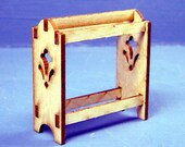 Standing Quilt Rack Kit 1:24 Scale