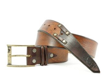 Accessories for Him, Genuine Leather, Men's Fashion, Men's Belt, Brown Belt, Leather Wear, Belt Buckle, Artisan Accessories, Men's Design