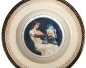 """ON SALE Portrait Bowl. R2D2 Renaissance Portrait 8.15"""""""